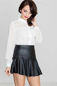Les indispensables du dressing féminin : La jupe noire Une minijupe taille haute met en valeur vos gambettes et dessinent joliment votre silhouette.