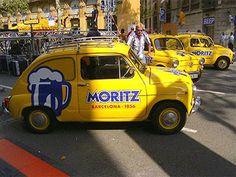Seat 600 Moritz Bière Barcelone