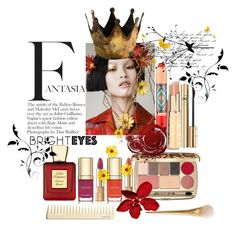 """""""Fantasia"""" by yvettemmh ❤ liked on Polyvore featuring beauty, Dolce&Gabbana, MAC Cosmetics, Bella Bellissima and brighteyes"""