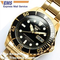 SEIKO-5-SPORTS-SNZF22-SNZF22J-Automatic-Gold-Black-Mens-Watch-Made-in-Japan