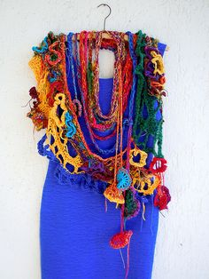 The Bollywood Connection / wearable sculpture by MizzieMorawez, via Flickr