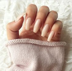 I miss my long nails #Nude