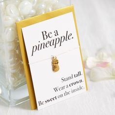 Show your love for your party guests with this adorable pineapple necklace.