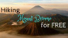 Exploring Mount Bromo was incredible. Being able to see and explore Mount Bromo for free and without a tour-Amazing! Follow this DIY Bromo tour!