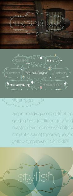 Brownstone font by Alejandro Paul #font #typography