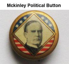 Antique McKinley Political Campaign Button. $45.00 USD 2 available
