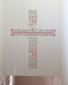 Anniversary Gift Ideas For Him Discover Proverbs Cross Wall Decal Proverbs Cross Wall Decal Vinyl Wall Decals, Wall Stickers, Vinyl Wall Quotes, Christian Wall Decals, Scrabble Wall, Teacher Signs, Prayer Room, Family Wall, Wall Crosses
