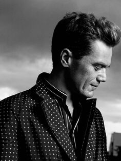 Michael Shannon, photographed by Robbie Fimmano for Matches Fashion Man, S/S 2014.
