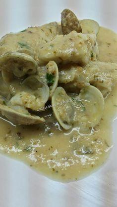 Cocina Casera y Rapida: MERLUZA EN SALSA DE ALMENDRAS CON ALMEJAS CBF@