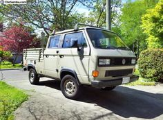 $25,000 for a 1990 Doka!?!?! Don't care, want it. Transporter T3, Volkswagen Transporter, Vw T1, T3 Bus, Vw Syncro, Don't Care, Automobile, Wheels, Vans