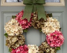 Easter Wreath READY TO SHIP by countryprim on Etsy