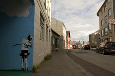Por las calles de Reykjavik, Islandia.