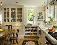 Like cabinets and color