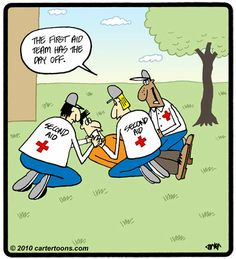Second aid team