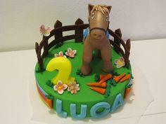 #Topper #cavallo in #pasta di #zucchero ( #pdz )