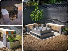 Image result for Concrete Cinderblock Bar