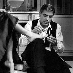 Кэтрин Зета-Джонс и Джордж Клуни