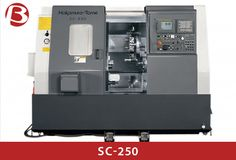 SC-250 Realization of both powerful cuts and better cost performance. 8 inch machine
