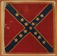 Confederate Battle Flag captured at Gettysburg