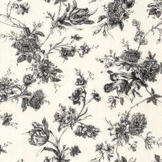 black and white floral wallpaper - Home Depot