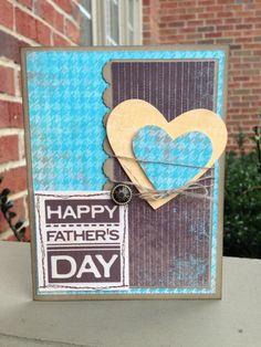 My Digital Studio | Happy Father's Day card Designed by Cori Kozak