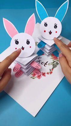 Paper Crafts Origami, Paper Crafts For Kids, Craft Activities For Kids, Preschool Crafts, Diy Crafts For Home Decor, Diy Crafts For Girls, Diy Crafts Hacks, Diy Projects, Art N Craft