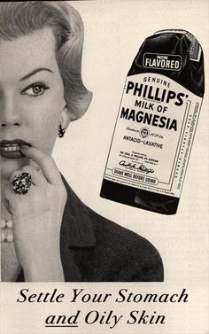 Milk of Magnesia for skin