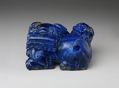 Lion and Cub  Period: Qing dynasty (1644–1911) Date: 18th century