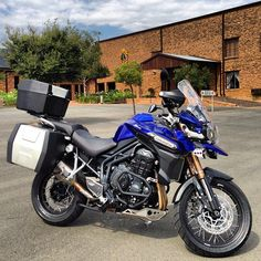 I can't say a big enough thank you to Triumph South Africa for the incredible support. Just picked up my band new Triumph Tiger 1200 Explorer. Looking forward to many safe and exciting miles of adventure. #triumph #triumphtiger #triumphexplorer #triumph1200 #motorcycle #adventure #ride #africa #southafrica #christianmotorcyclistsassociation #Padgram