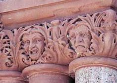 Unrequited Love Carvings – Ellis County Courthouse, Waxahatchie, Texas.
