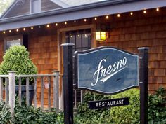 Fresno Restaurant 8 Fresno Place, East Hampton, NY 11937, T. 631-324-8700 Serving Dinner Nightly from 5:30pm