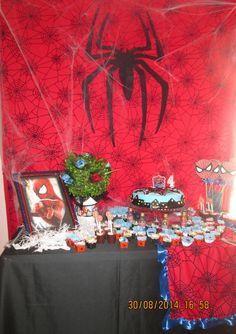 Homem Aranha decoração