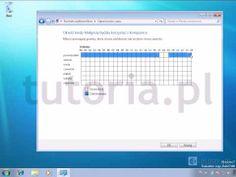 ▶ Windows 7 - Kontrola rodzicielska - YouTube