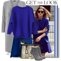Get the Look: Olivia Palermo by fashion-architect-style on Polyvore featuring Warehouse, Mountain Hardwear, Ralph Lauren, House of Harlow 1960, Vince Camuto, women's clothing, women's fashion, women, female and woman