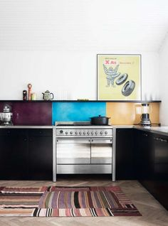 Out of the Ordinary Backsplash Materials That'll Make You Look Twice