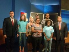 Xperience program visits Channel 4 news station WJXT