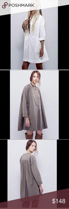 Selling this Free People ivory Cotton Oversize Tent Dress L on Poshmark! My username is: richbororiches. #shopmycloset #poshmark #fashion #shopping #style #forsale #Free People #Dresses & Skirts
