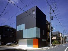 House MIZUE, Japan by Fuse-Atelier.