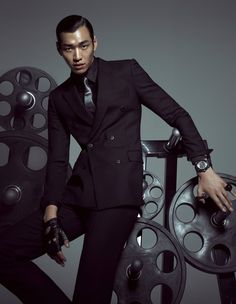 Kim Young Kwang - L'Officiel Hommes Magazine October Issue '12