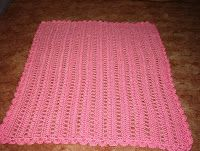Crochet: Wheelchair Lapghan Great to donate to residents at nursing homes. Might use this as a project with my girls a church who want to learn to crochet.