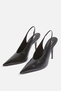 Get trending shoes at Topshop. From wear-with-everything mid-heels and sandals, to leather boots you'll want to live in, shop online for free click & collect. White Pumps, Nude Pumps, Slingback Shoes, Heels, Slingbacks, How To Make Shoes, Shoe Closet, Topshop Outfit, Buy Shoes