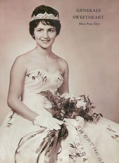 The 1962 Generals' Sweetheart in the yearbook of MacArthur High School in Decatur, Illinois.  #MacArthurHighSchool #Cadet #Decatur #Illinois #yearbook #1962
