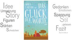Rezension || Das Glück der Worte | Sonia Laredo | erschienen im DVA Verlag   Das Buch heißt nicht nur das Glück der Worte, es ist auch das Glück der Worte. So ist Bücherliebe und genauso ist große Lesefreude. Eine klare Leseempfehlung! (sh) http://www.buecherkaffee.de/2015/02/rezension-das-gluck-der-worte-sonia.html