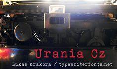 Image for Urania Czech font
