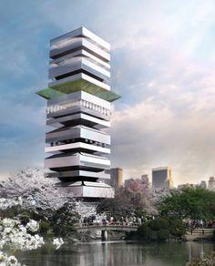 Propuesta para el Centro Cultural Taichung / SZA