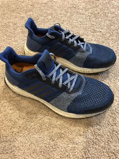5634376cb174 Adidas Mens Ultra Boost ST M Running Shoes Blue Size 8.5 Preowned  fashion   clothing  shoes  accessories  mensshoes  athleticshoes (ebay link)