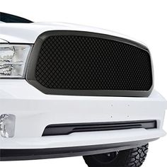 E-Autogrilles ABS Glossy Black Mesh Packaged Replacement Grille Grill for 13-16 Dodge Ram 1500 (41-0166B) -- Awesome products selected by Anna Churchill