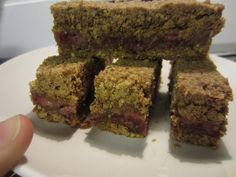 peanut butter/gluten free peanut butter and jelly bars