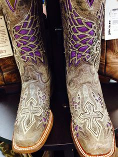 Corral boots :: COWGIRL CLAD COMPANY  http://cowgirlclad.com