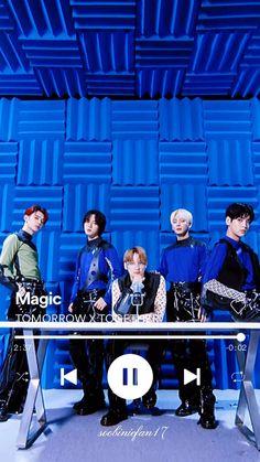 Txt Magic, Mv Video, Love Songs Playlist, Magic Video, Jungkook Funny, Pop Lyrics, Bts Youtube, Dance Kpop, Hippie Painting